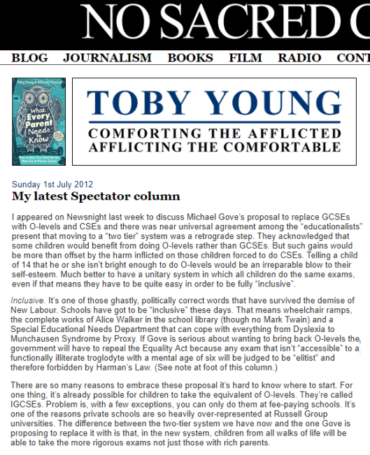 toby young deleted article 1