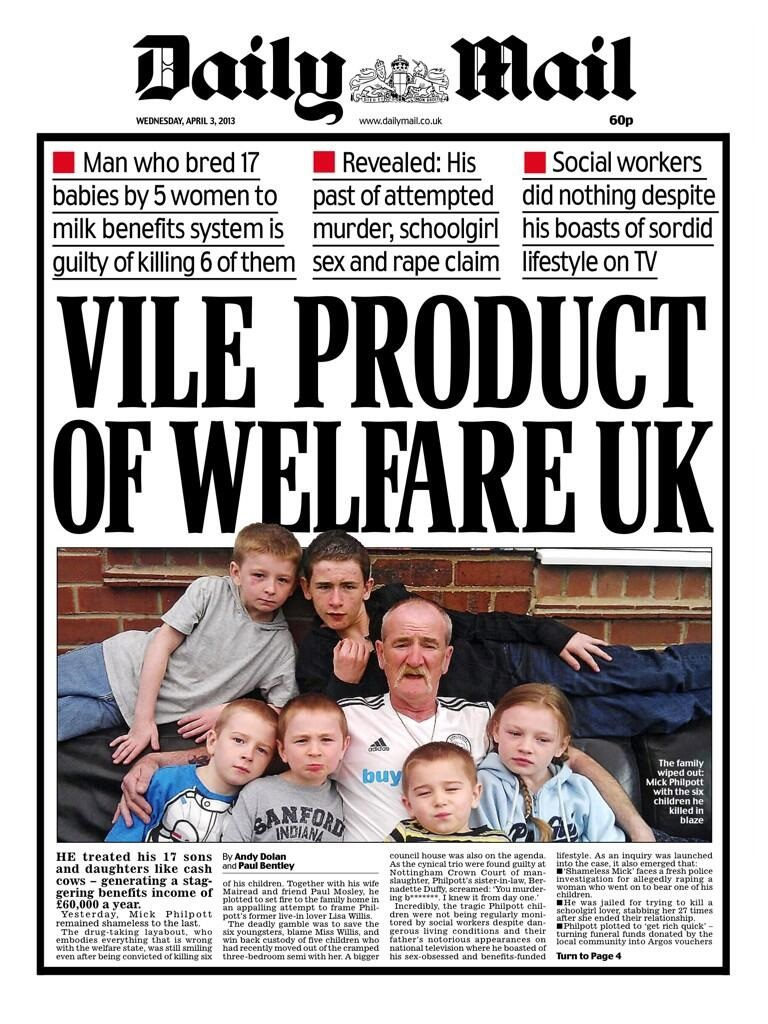 Daily Mail uses dead children to make a political point ...