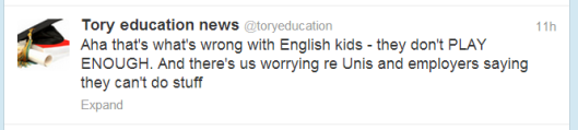 tory education