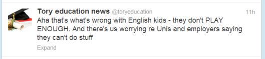 tory education