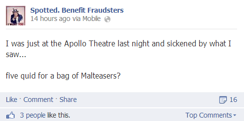 benefit fraudsters apollo joke