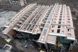 shanghai buidling collapse