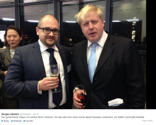 Boris with Russian spy
