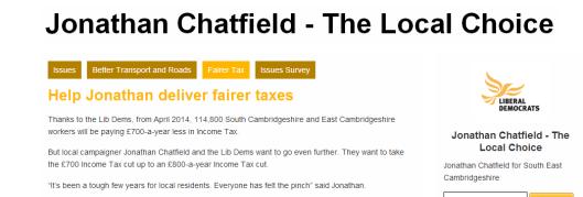 Cambridgeshire Lib Dems