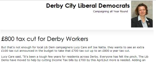 Derby Lib Dems