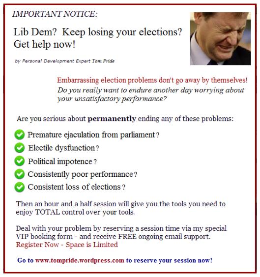 Lib Dem election problems