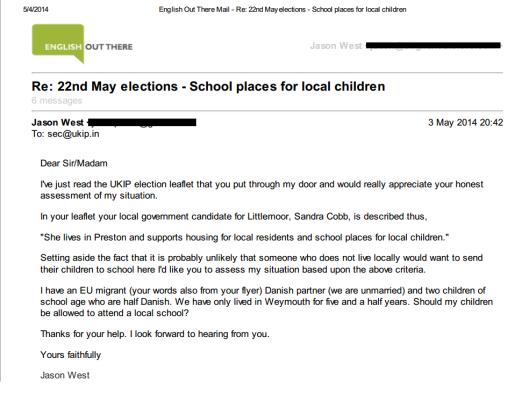school places UKIP 1