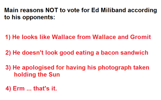 reasons not to vote for Miliband