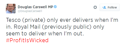 carswell tesco tweet