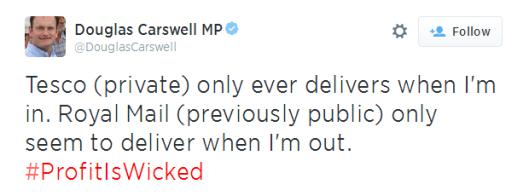 carswell tesco tweet