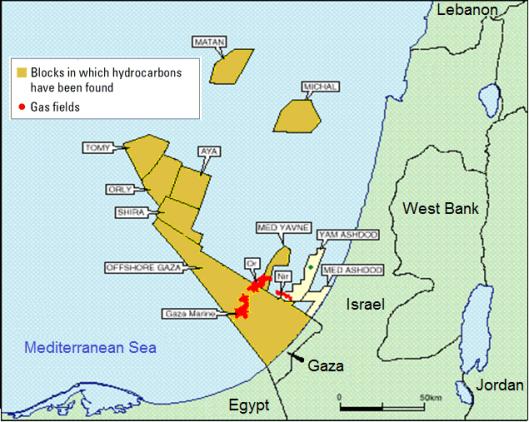 Gaza oil