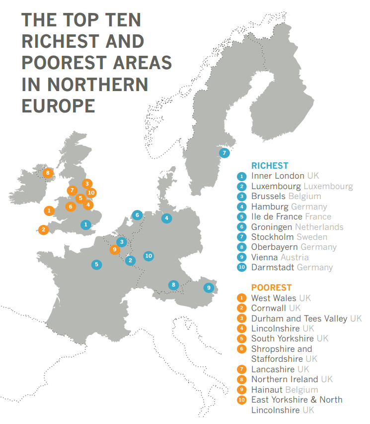these are the 10 richest cities and areas in south africa uk regions rank lowest in poverty compared to our closest neighbours pride s purge