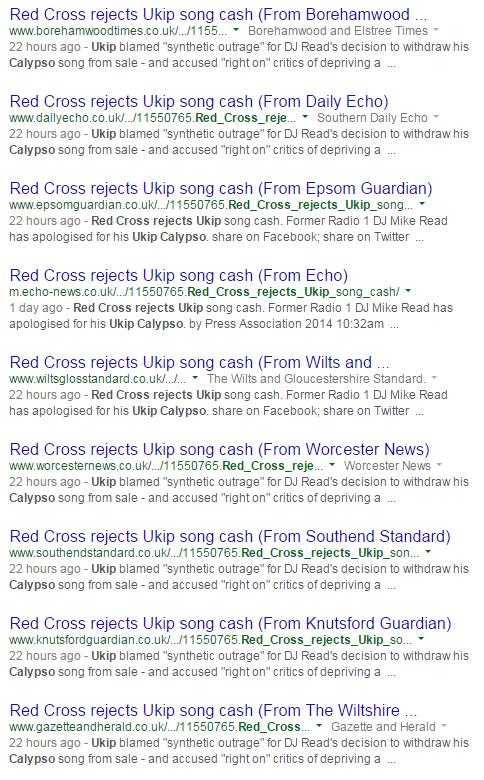 UK press lies UKIP