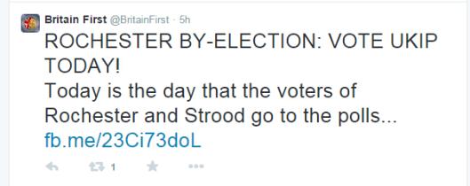 Britain First vote UKIP