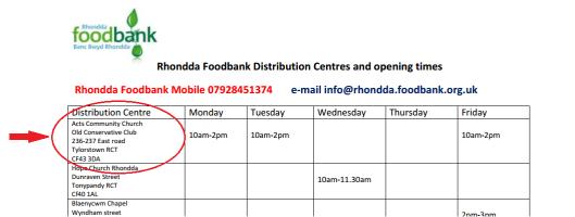 food bank 1