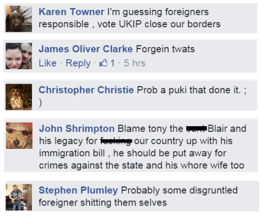 UKIP comments