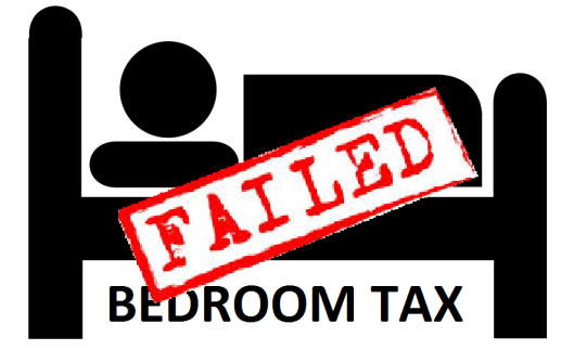 bedroom tax failed