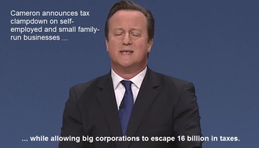 David Cameron tax