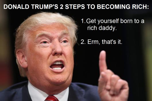 trump rich
