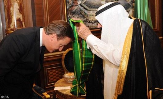 Cameron saudi