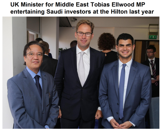 Ellwood Saudi ties