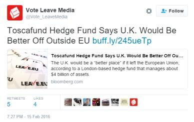 toscafund brexit
