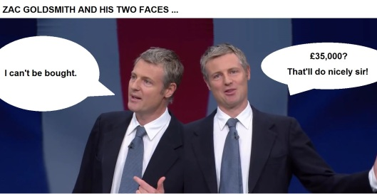 Zac Goldsmith bought