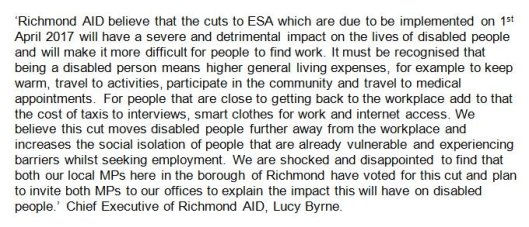richmond aid statement