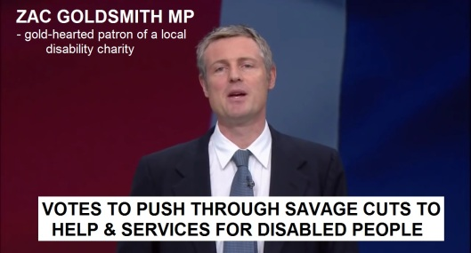 Zac Goldsmith - CHARITY CUTS