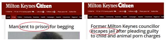 jail beggar porn tory