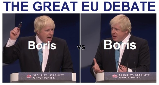 Boris Johnson debate