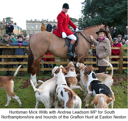 Image result for andrea leadsom fox hunting