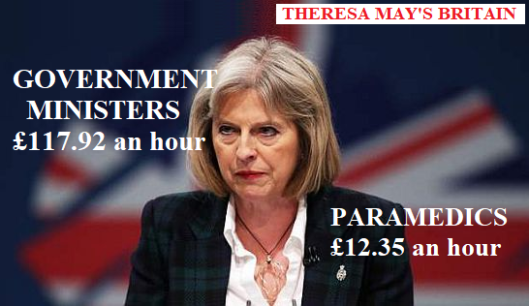 "Desperate, underpaid NHS paramedic tells Theresa May: ""I've seen"