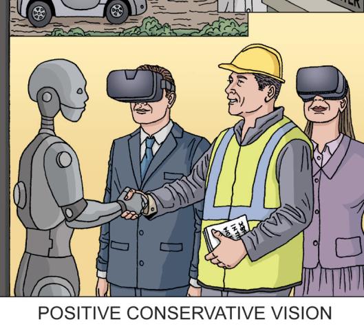 positive conservative vision