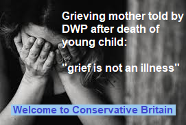 DWP tells grieving mother to find job 3 days after death of